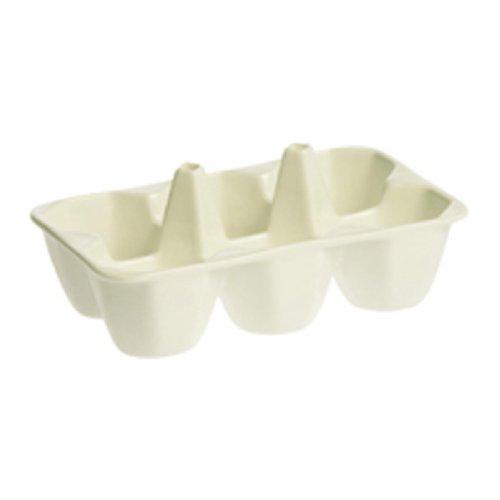 SELETTI Coquetier et Porte-saladiers en Porcelaine 15,2 x 10 x 6,5 cm