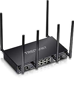 TRENDnet AC3000 Tri-Band Wireless Gigabit Dual-WAN VPN SMB Router, MU-MIMO, Wave 2,Internet Router, Whole Office-Home Wifi, Pr-Encrypted Wireless, QoS,Inter-VLAN Routing, Black, TEW-829DRU (B07D5W2FGQ)   Amazon price tracker / tracking, Amazon price history charts, Amazon price watches, Amazon price drop alerts