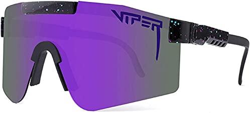 Pit Vipers Sportbrillen, Sport Sonnenbrille,Anti-UV-Outdoor-Radsport-Sportbrillen, UV-400-Brillen-Sonnenbrillen für Outdoor-Rennen Angeln Laufen Bergsteigen Golf Wandern Outdoor-Aktivitäten (C04)