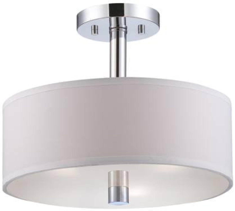 Designers Fountain 84511-CH Cordova Semi-Flush