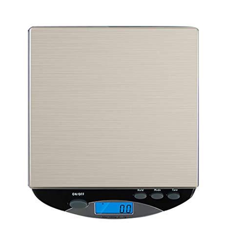 Balance de Cuisine Electronique Professionnelle 6 kg/5g, Balance numérique de cuisine de Haute Précision Ultra Mince