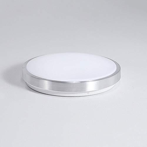 Lighfd LED 15W 10 Inch Modern plafond verlichting Embedded Installatie Lampen Rond koud wit plafond verlichting for Restaurant Gang Woonkamer Keuken Slaapkamer Room 4,5 Inch Thin