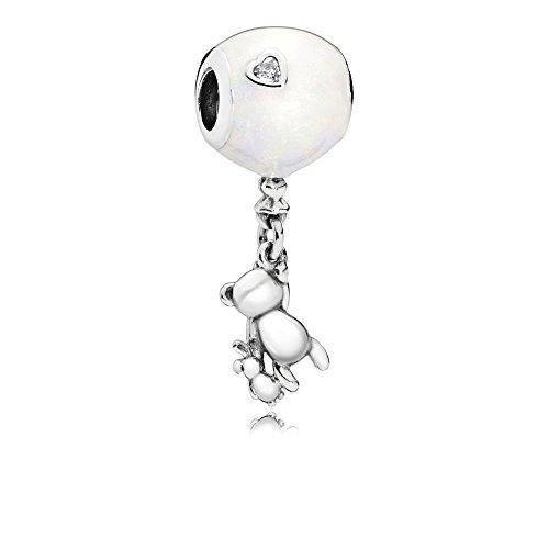 Pandora Charm Balloon, Teddy & Rabbit Sterling Silber 797034EN23
