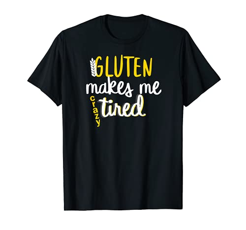 Trigo celíaco sin gluten cansado Camiseta