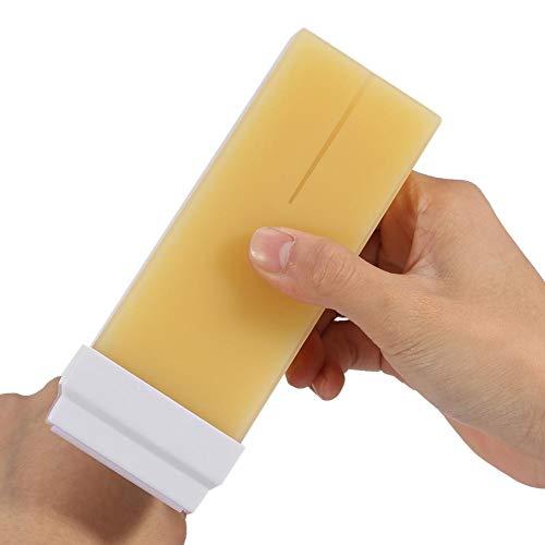 Crema de cera depilatoria, cera depilatoria fácil de aplicar para depilación corporal para toda la piel(banana, Santa Claus)