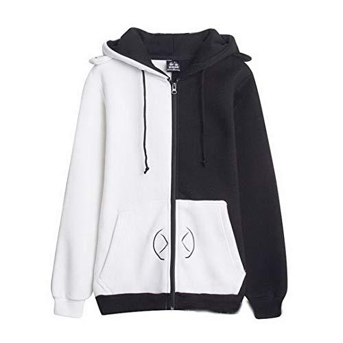 Fancyland Dangan-Ronpa Hoodies Cosplay Jackets Pullover Kapuze Kapuzenpullover Fitness Sport Gym (M)