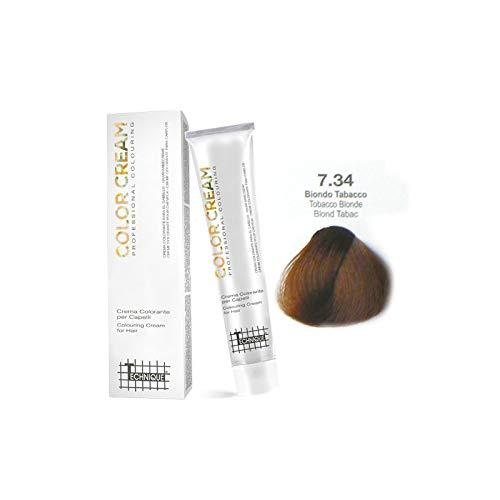 TECHNIQUE COLOR CREAM - TINTA 100ML (7.34 Biondo Tabacco)