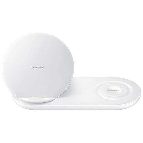 ZYD 2 Fast Charging Wireless-Ladegerät nur kompatibel für Samsung Galaxy S2 / S3-Uhr-42MM / 46MM Für Samsung Handy in 1,Weiß