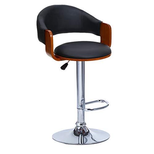 Chaises de réception Chaise en bois massif Chaise haute de salon Chaise d'étude de salle d'étude Tabouret de bar Chaise d'ordinateur d'ascenseur pour chambre d'enfants Tabouret de bar en bois massif C