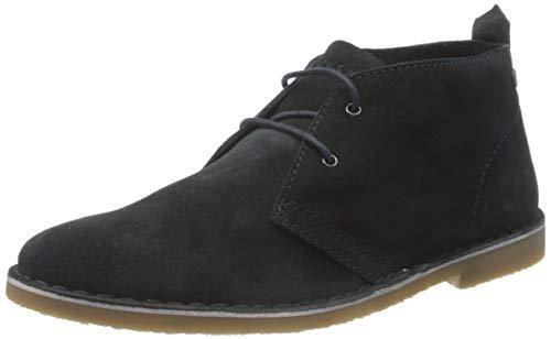 JACK & JONES Male Desert-Boots Rindsleder 43Navy Blazer