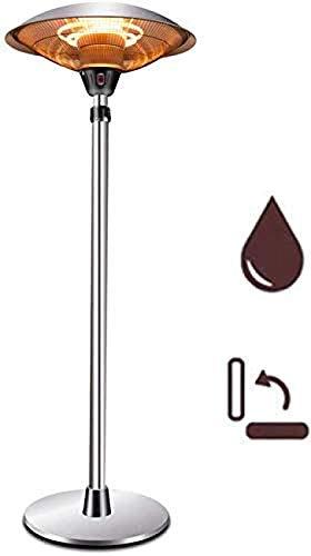 Calefacción de patio eléctrica Calefacción eléctrica por infrarrojos para uso exterior e...