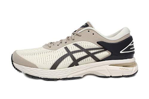 ASICS Men's Gel-Kayano 26 Running Shoes (Birch/Phantom, 10)
