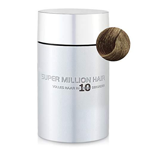 Super Million Hair - Fibres Capillaires Densifiantes pour Cheveux Clairsemés, Chute de Cheveux, 15g, Blond Naturel (67)