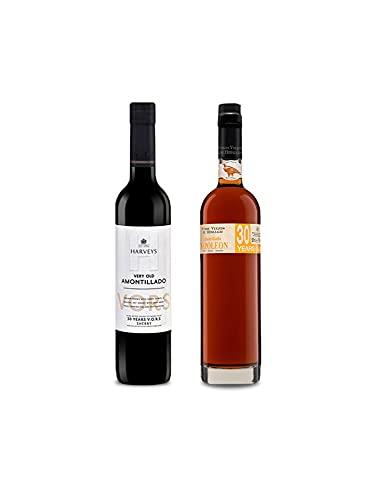 Vino VORS Amontillado Harveys de 50 cl y Vino VORS Amontillado Napoleon de 50 cl - Mezclanza Exclusiva