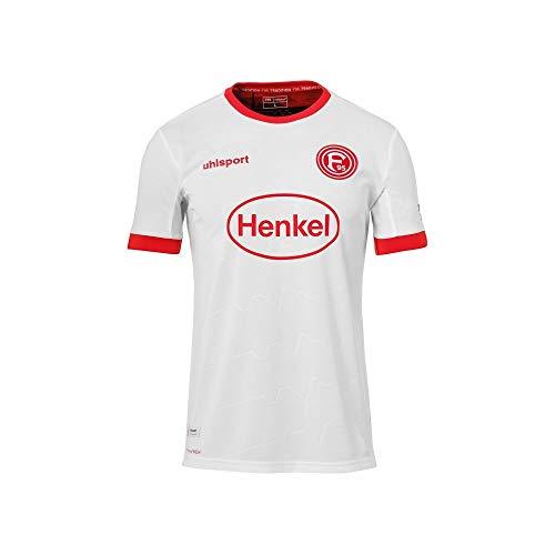 uhlsport Fortuna Düsseldorf Herren Kinder Auswärtstrikot 2020/21 weiß (128)