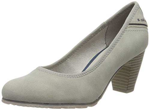 s.Oliver Damen 5-5-22404-24 Pumps, Grau (Lt Grey 210), 37