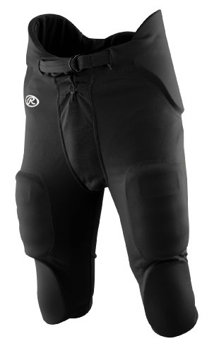 Rawlings Men's F3500P Football Pant (Black, Small)