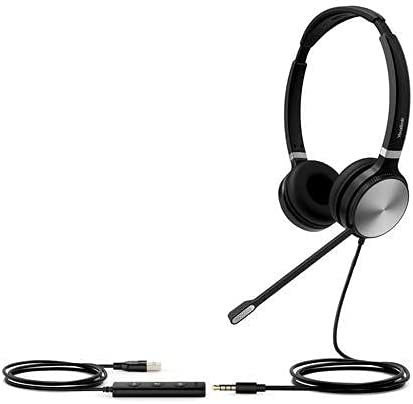 high quality HWUSA UH36 2021 Dual USB-A and 3.5MM discount Headset for PC outlet sale