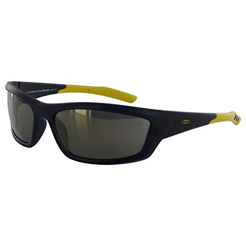 Vuarnet Extreme VE5007 Athletic Sport Wrap Sunglasses Yellow Yellow Brown Lens