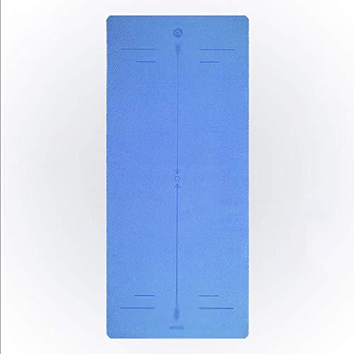 xiaokeai Esterilla Yoga Antideslizante Yoga Mat Plana Soporte Colchoneta de Ejercicio de Yoga en casa Cojín Estera de la Aptitud al Aire Libre del césped Esterilla Deporte