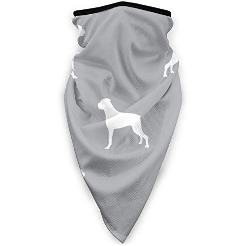 YTGQ4PT Mascarilla de perro a prueba de viento, unisex, multifuncional, resistente al viento, para deportes, color negro