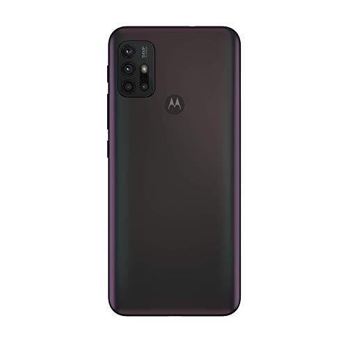 "Motorola moto g30 (6,5""-Display, 64-MP-Kamera, 6/128 GB, 5000 mAh, Dual-SIM, Android 11) Dark Pearl, inkl. Schutzcover [Exklusiv bei Amazon] - 5"