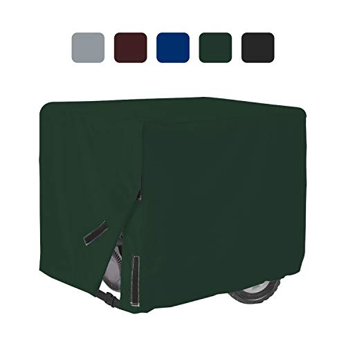 Outdoor Generator Covers 18 Oz Waterproof - 100% UV & Weather Resistant PVC Coated Generator Cover with Air Pockets and Drawstring for Sungfit ((32\
