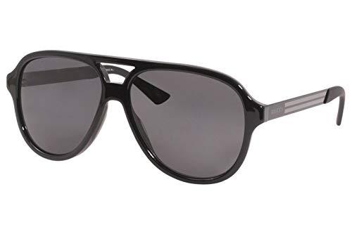 Gucci Gafas de Sol GG0688S BLACK/GREY 59/14/145 hombre