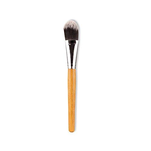 Demarkt 1pcs Poignée ronde en bambou Pinceau maquillage Professionnel Brush Beauté Maquillage Brosse Makeup Brushes 14.5 * 2 * 2 cm