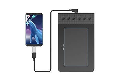 Mesa Digitalizadora Tablet Compatível com Android Xp Pen G640S Com Caneta Sem Fio