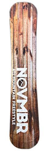 NOVEMBER ノベンバー スノーボード ニットソールカバー KNIT WOOD ノーベンバー ソールカバー ボードケース (ML, KNIT_WOOD)