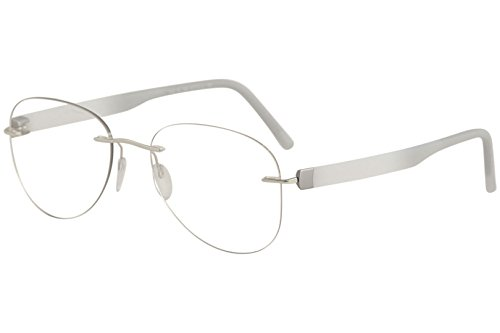 Silhouette Eyeglasses Inspire Chassis 5506 7000 Rimless Optical Frame 21x145mm