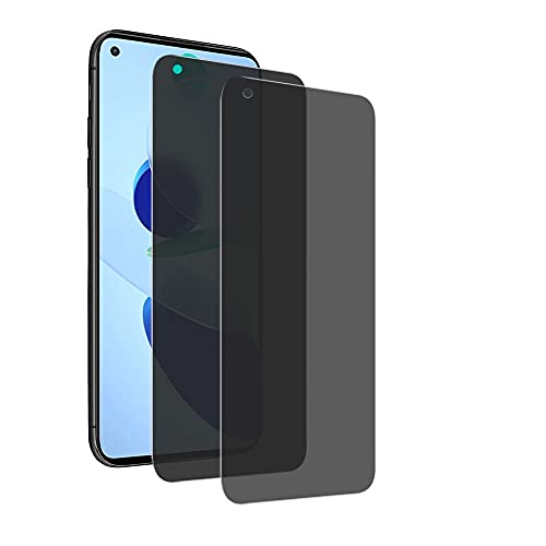 Anti-Spy Protector Pantalla para Xiaomi Mi 11 Lite, E-Lush [2 Pack] Privacidad Anti-espía Peeping Vidrio Templado para Xiaomi Mi 11 Lite Protector de Pantalla 9H Dureza Película Protectora