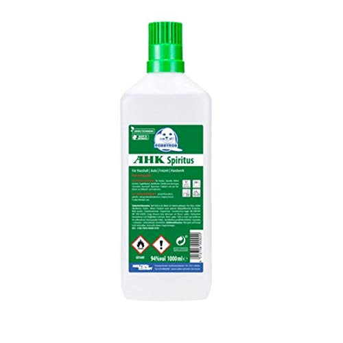 Brennspiritus 1 L Spiritus geruchsfrei Premium AHK Bioalkohol Made in Germany