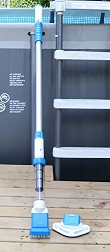 AquaJack Aspirador limpiafondos electrico con bateria para Piscina pequeña y SPA ELEK-65