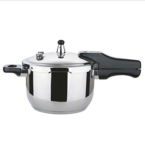 LJXWH Pote Hogar Steamer Doble Bottom Boodless Steel Pot 5.5L Pote de Sopa Utensilios de Cocina Se Pueden Utilizar en Suministros de hoteles de Cocina