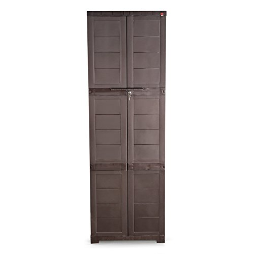 Cello Novelty Large Cupboard - Ice Brown