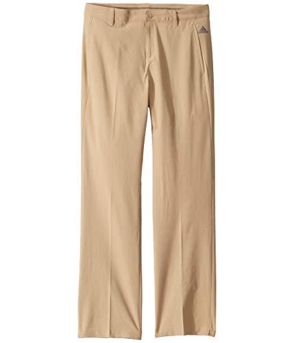 adidas Pantalones sólidos para niños - TB6301S9, Pantalón liso., S, dorado (Raw Gold)