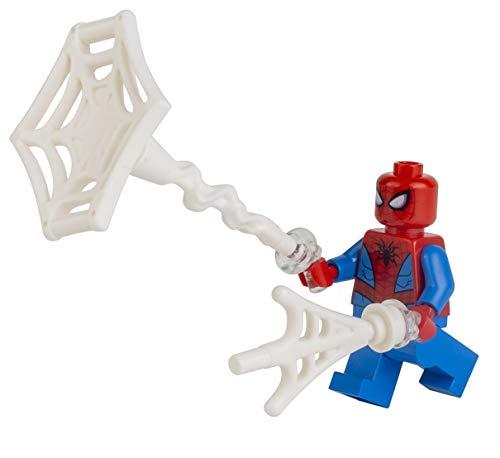 LEGO Superhéroes: Figura de Spiderman de lujo con accesorios de explosión web