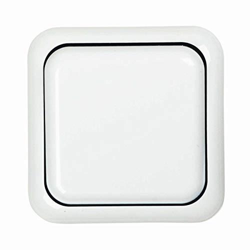 Schalterserie Standard Aufputztaster polarweiß