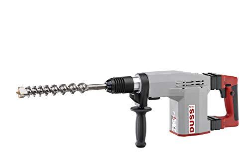DUSS Kombihammer PX 48 A Set (inkl. Flachmeißel + Spitzmeißel, Aufnahme SDS-max, 920 W, Drehzahl und Schlagkraft stufenlos einstellbar, Vibrationsdämpfung) PX48ASet