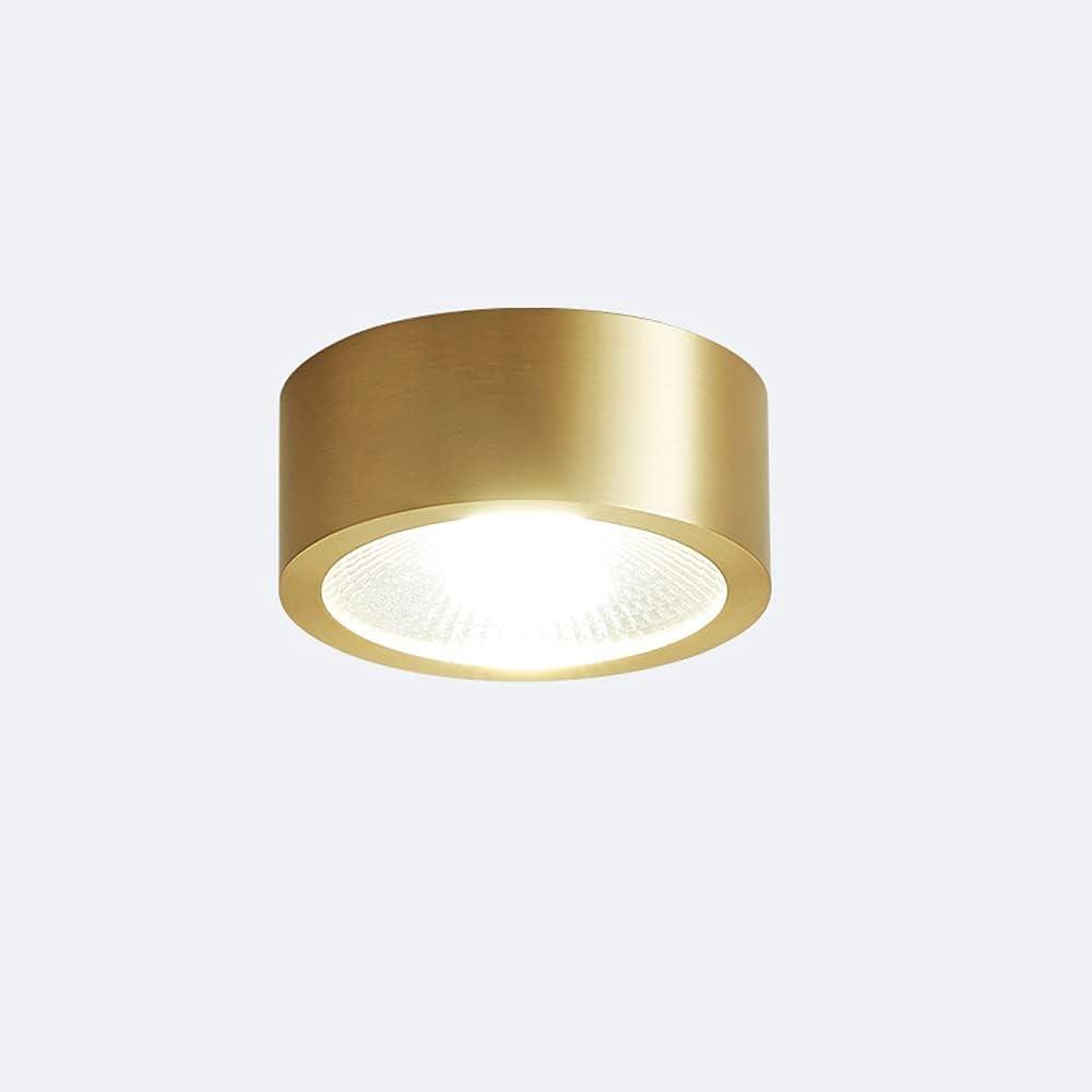 LogIme 3.1-inch Golden 5W Surface COB Ne 55% OFF 4000K Genuine Lighting Mounted