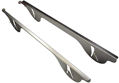 Stainless Steel - Stove to Counter Gap Cover (for 1 to 11mm gap) trim kit