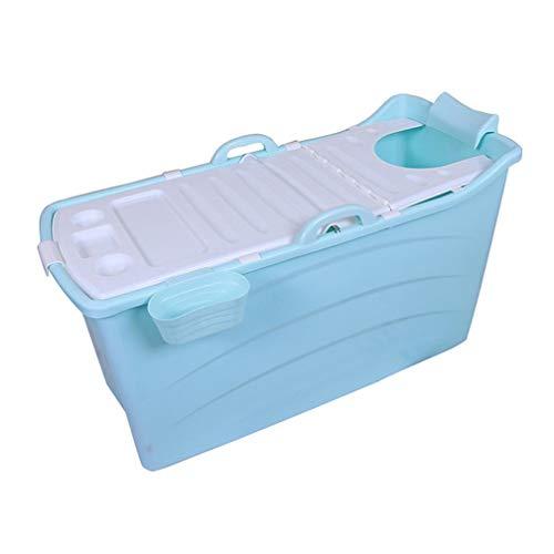 WENJUN Tina De Baño Plegable para Adultos para Azul, Bañer