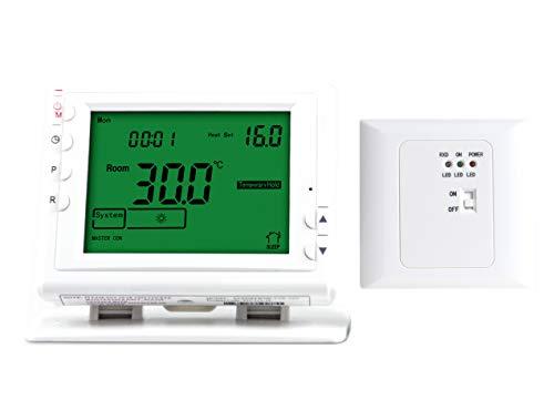 LICHIFIT termostato programable inalámbrico de calefacción para bajo Suelo Sistema de Calentamiento de Agua válvula actuador eléctrico Panel Calefactor de Gas Caldera