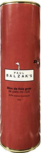Bloc de Foie Gras de Pato Mi-Cuit - 30% Trozos - Paul Balzak´s - 1Kg
