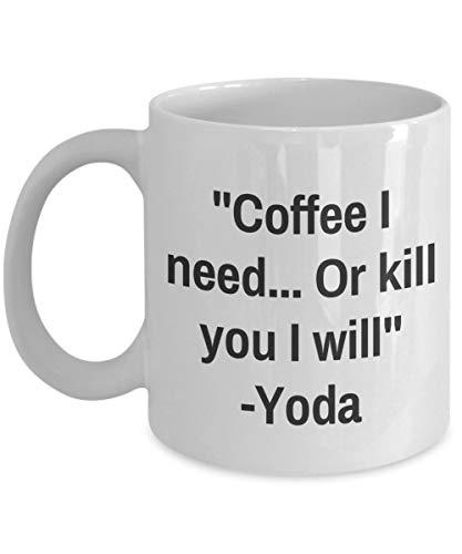 Ik heb periodiek nodig cafeïne mok - ik heb nodig. of doden je -cafeïne cafeïnevrije Cafe Mom verpleegster - grappige te thee koffie Cup nieuwigheid cadeau idee voor