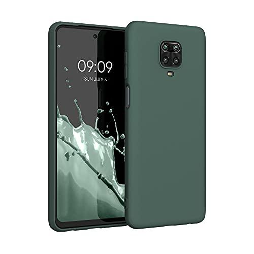 kwmobile Hülle kompatibel mit Xiaomi Redmi Note 9S / 9 Pro / 9 Pro Max - Hülle Handyhülle - Handy Hülle in Moosgrün