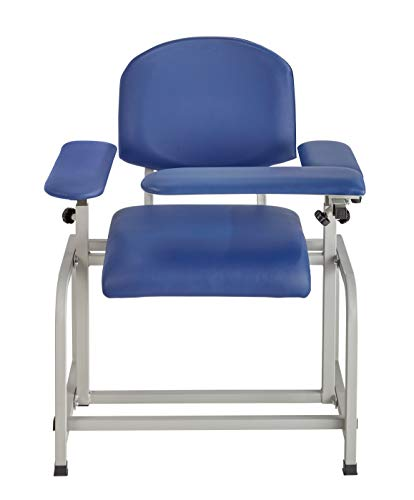 AdirMed Padded Blood Drawing Chair (Blue)