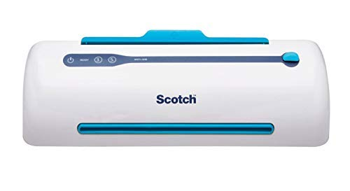 Scotch PRO Thermal Laminator and Pouch Bundle, 2 Roller System, Never...